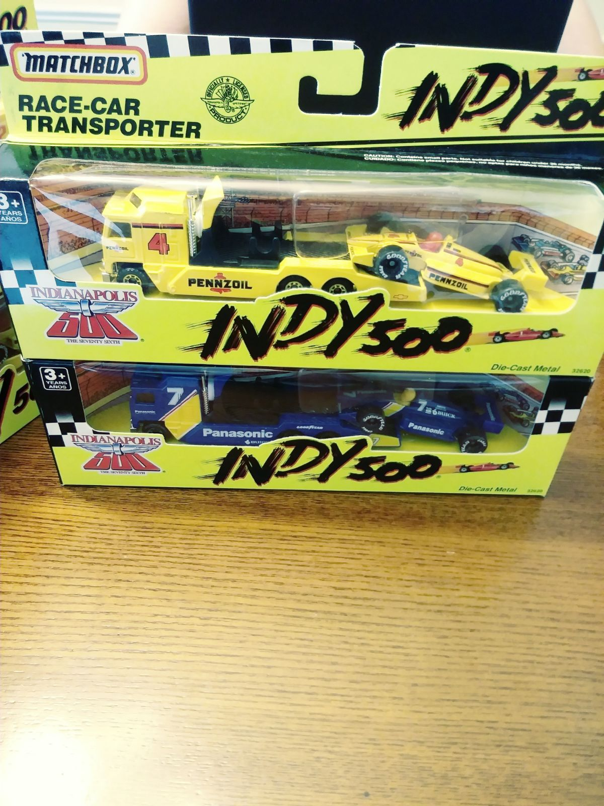 Matchbox Indy 500 Transporters & Cars