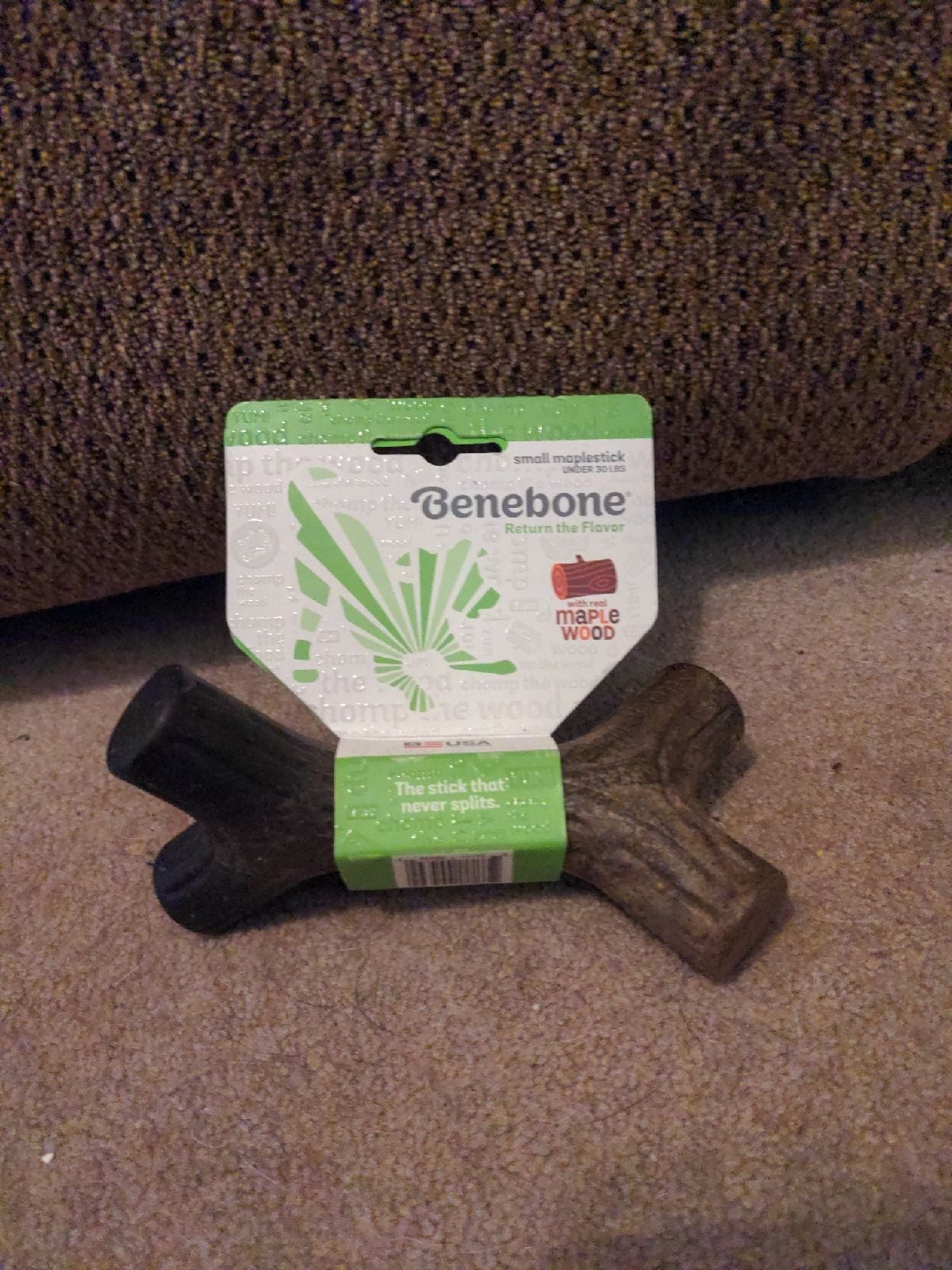 Maple wood benebone