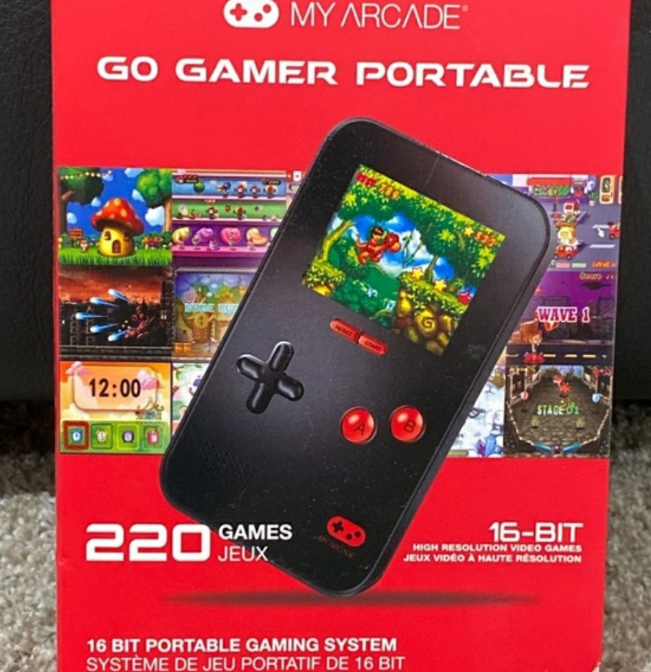 Go Gamer Portable Gaming System