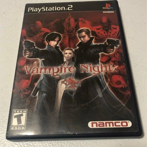 Vampire Night on Playstation 2