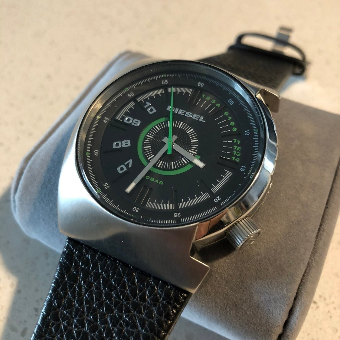 Mens Diesel Watch (altered band)