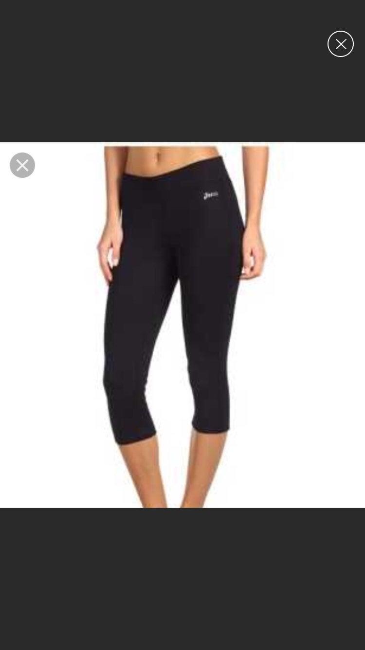 Asics workout capri leggings