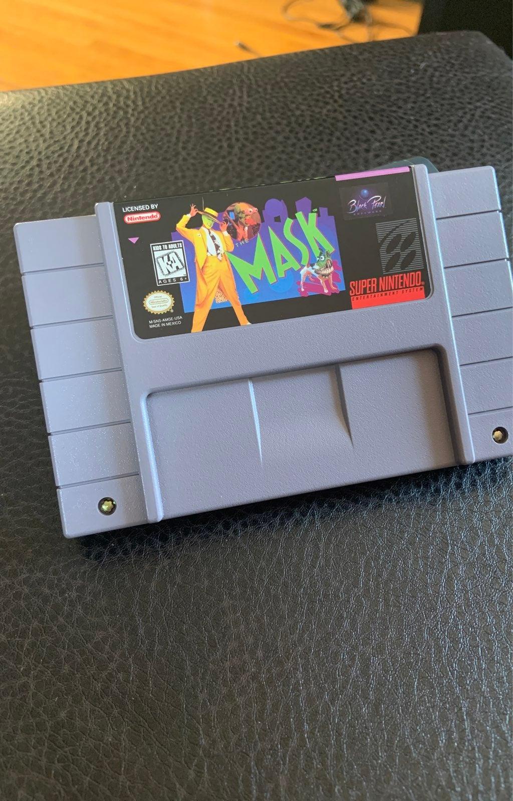 The Mask on Nintendo Super NES