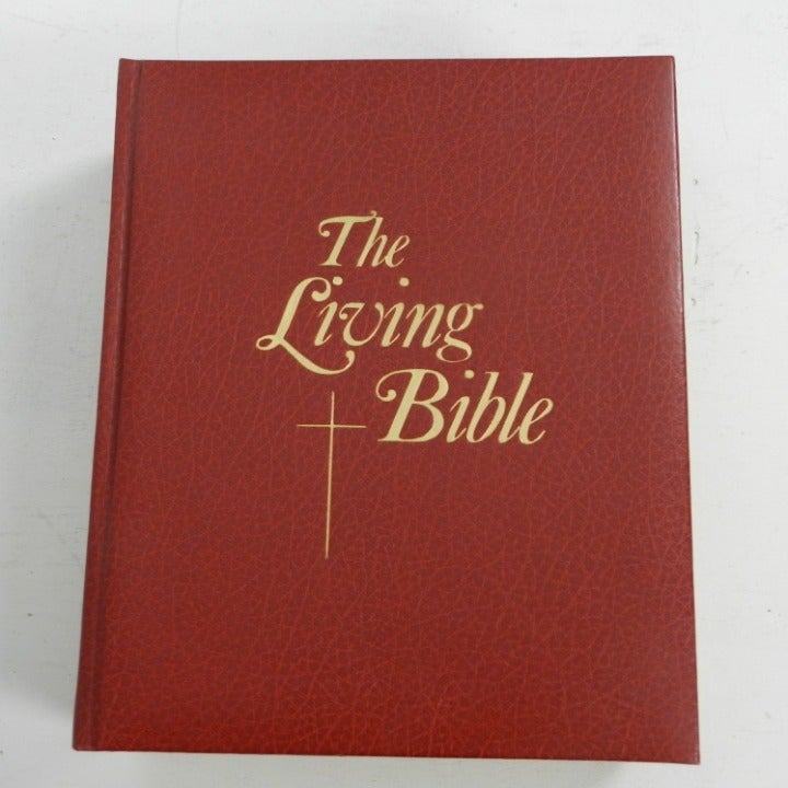 Vintage The Living Bible Paraphrased s1