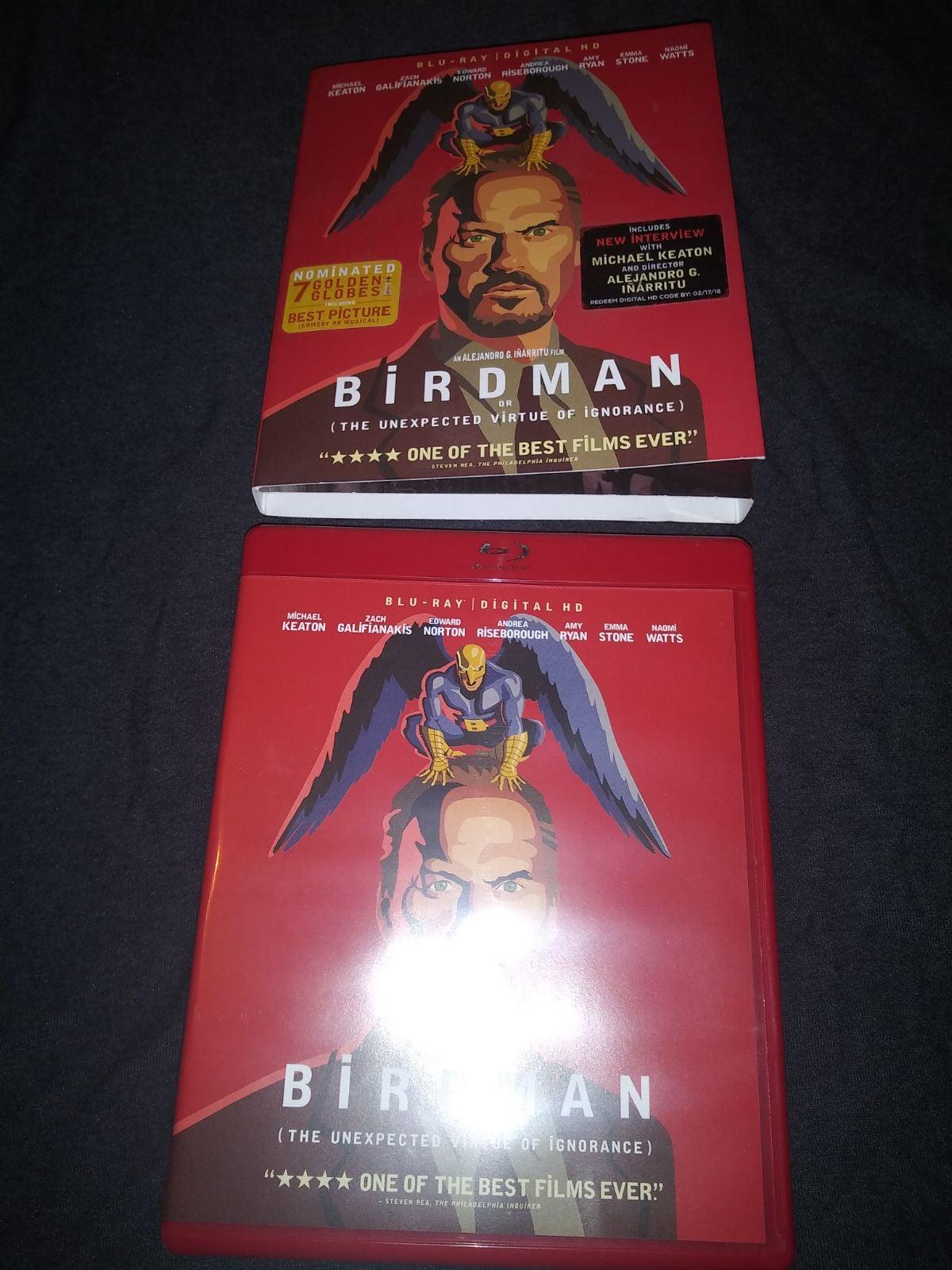 Birdman bluray movie keaton. Michael