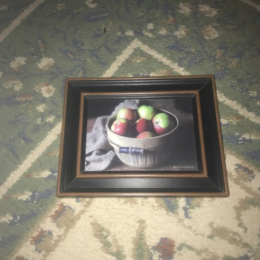 Decorative picure with frame