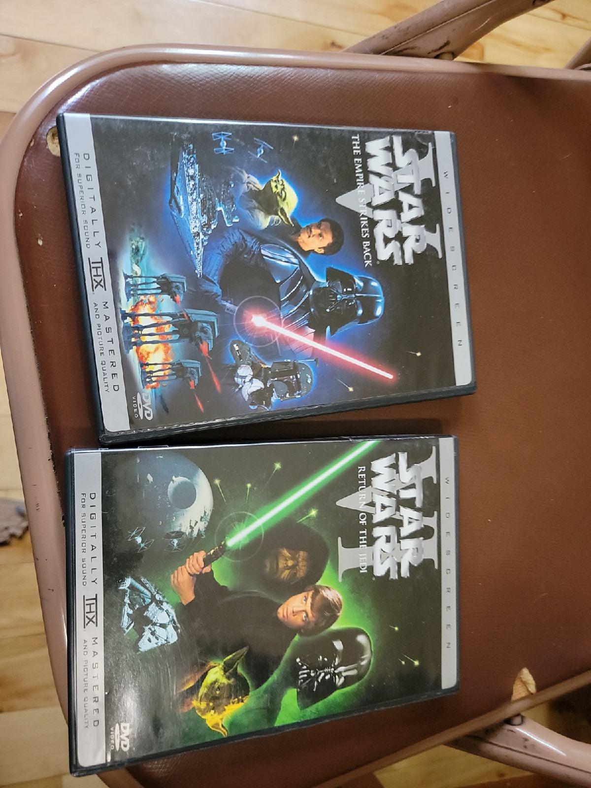 Star Wars IV V VI DVD