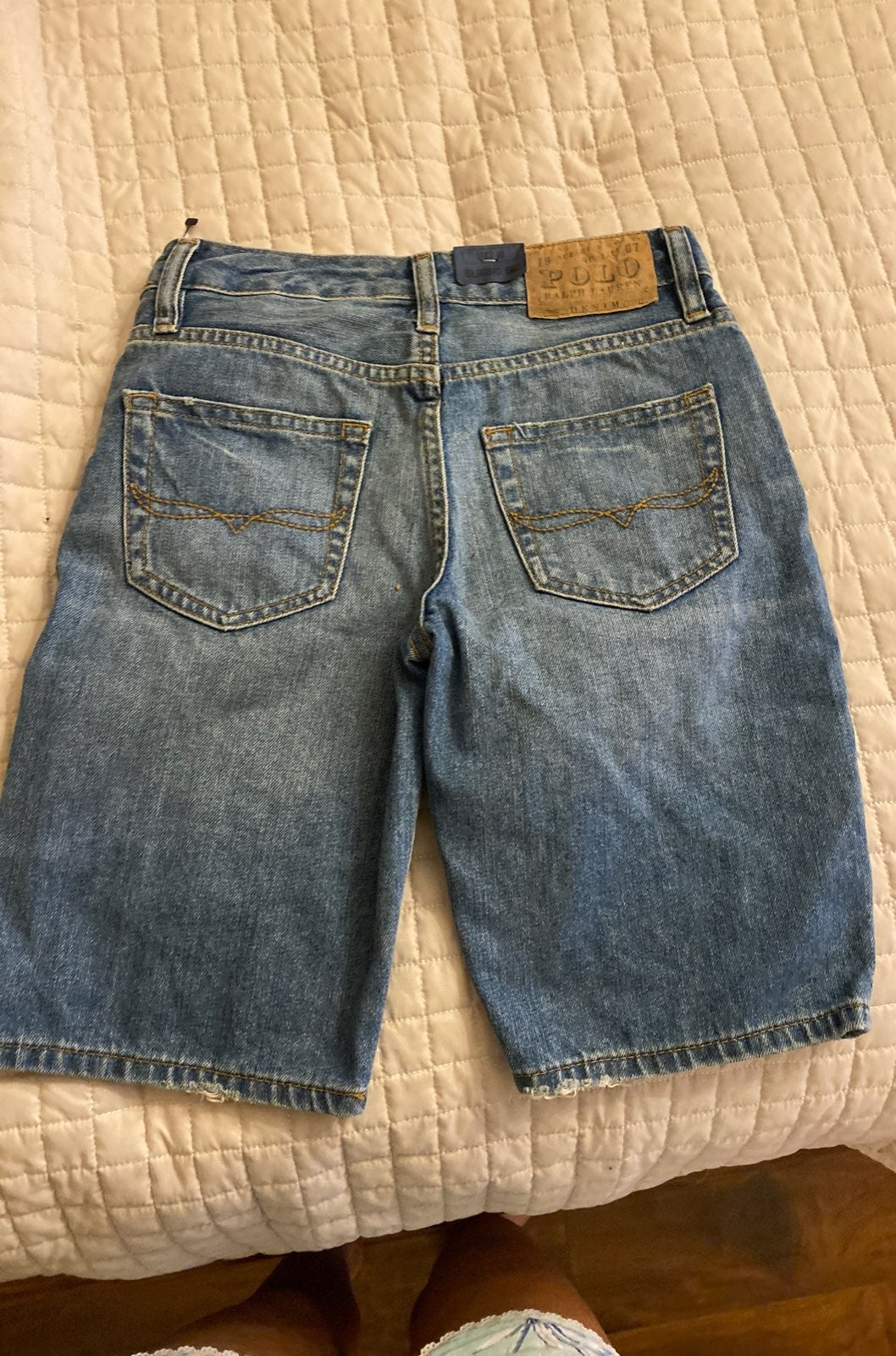Polo Ralph Lauren Jean Shorts size 10 bo