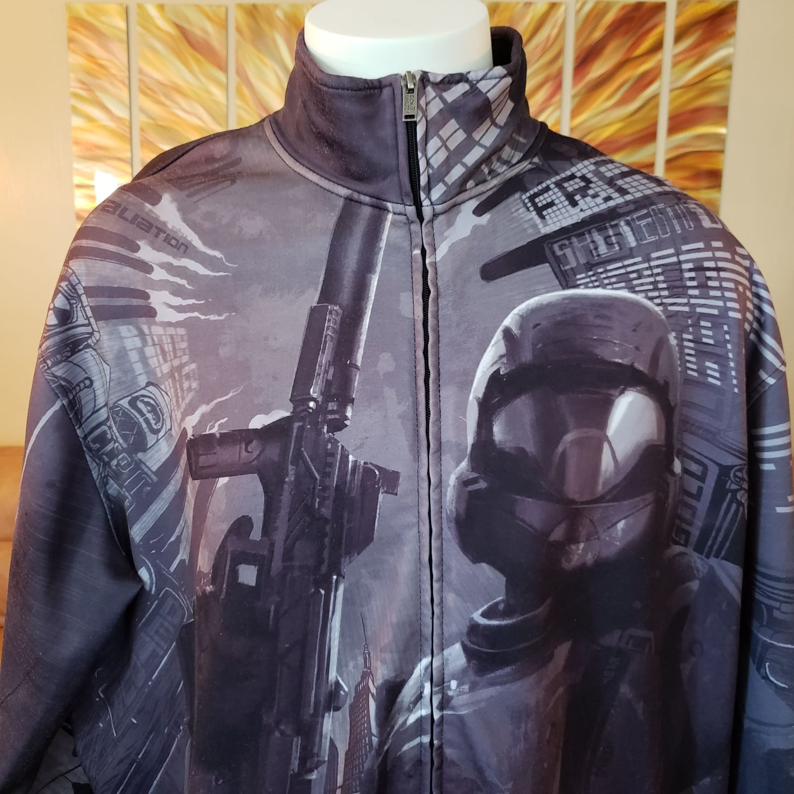 Ecko Unltd Halo Zip Up Track Jacket Blac