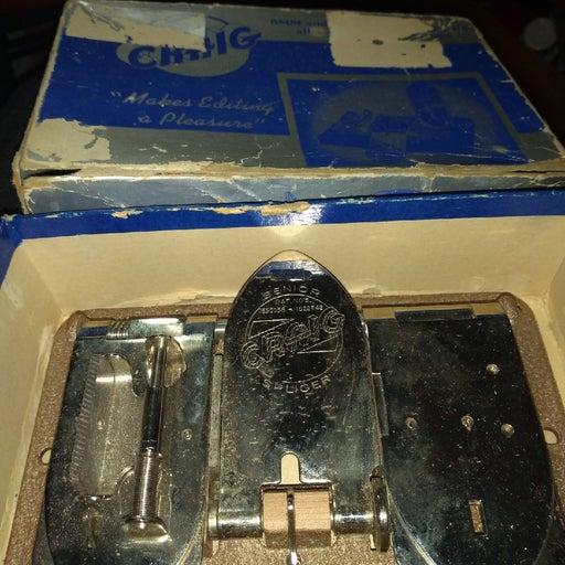 Craig Senior 8mm & 16mm Film Splicer