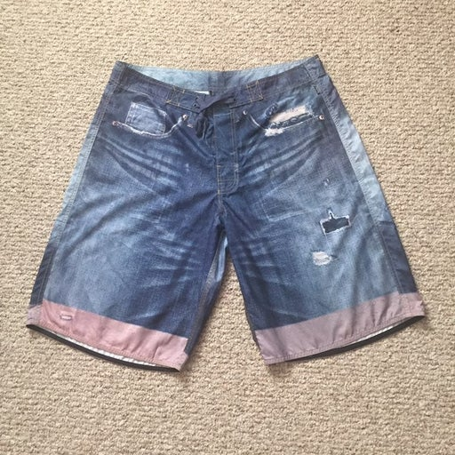 crooks and castles beach shorts