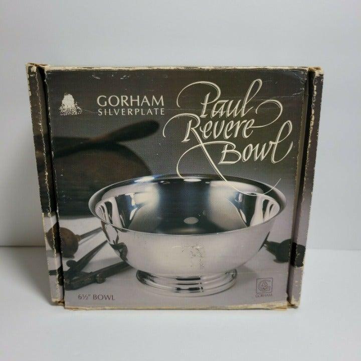 Gorham Paul Revere 6.5 Inch Silverplate