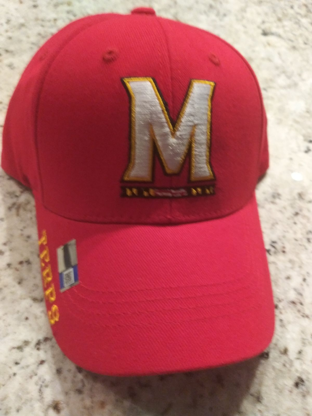 Maryland terrapins hat cap new w tags