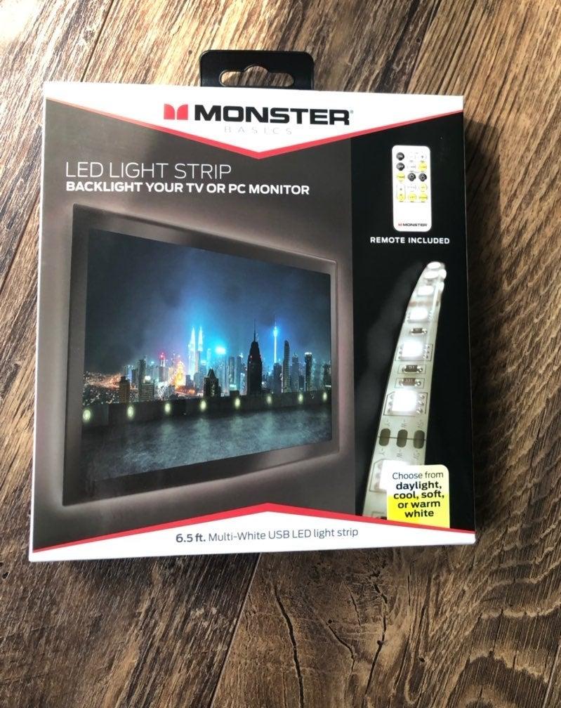 NEW Monster Basics LED Light Strip 6.5ft