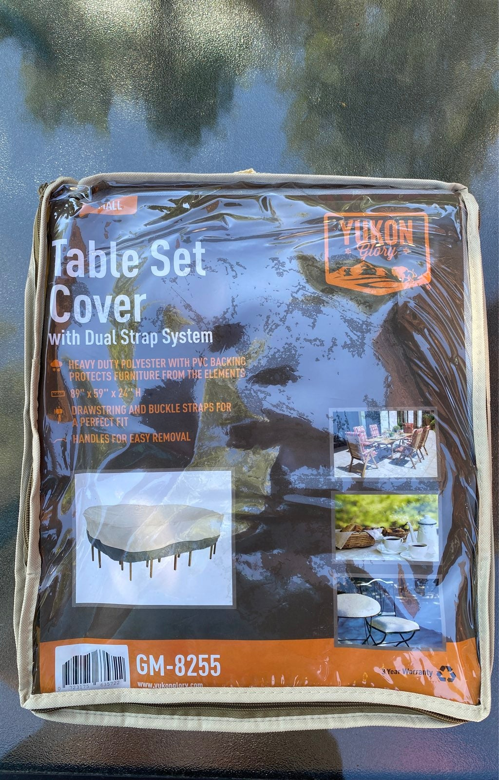 Yukon Glory Table Cover - small