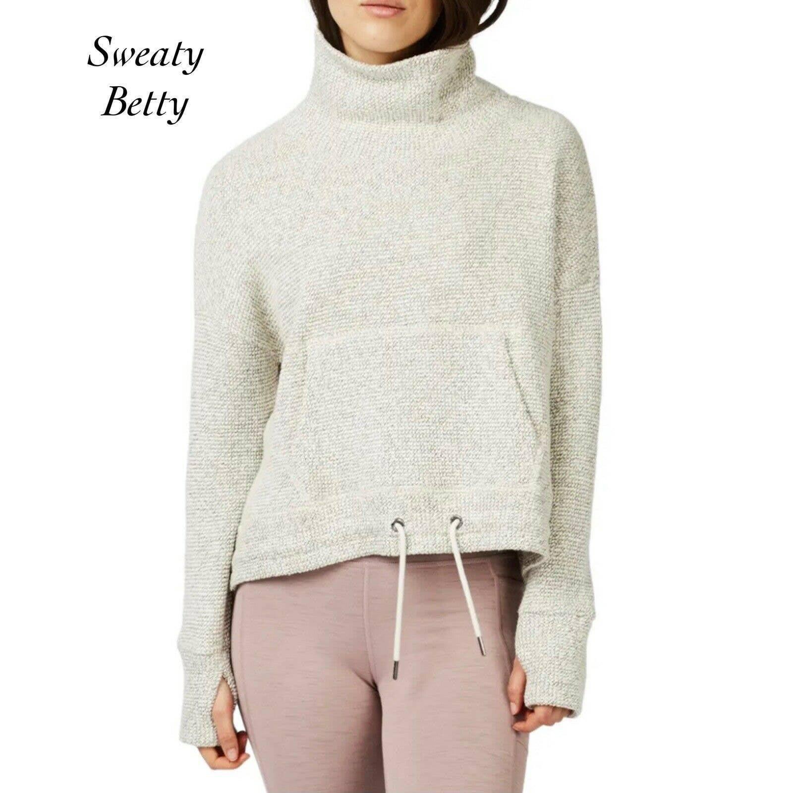 Sweaty Betty Restful Boucle Sweatshirt S