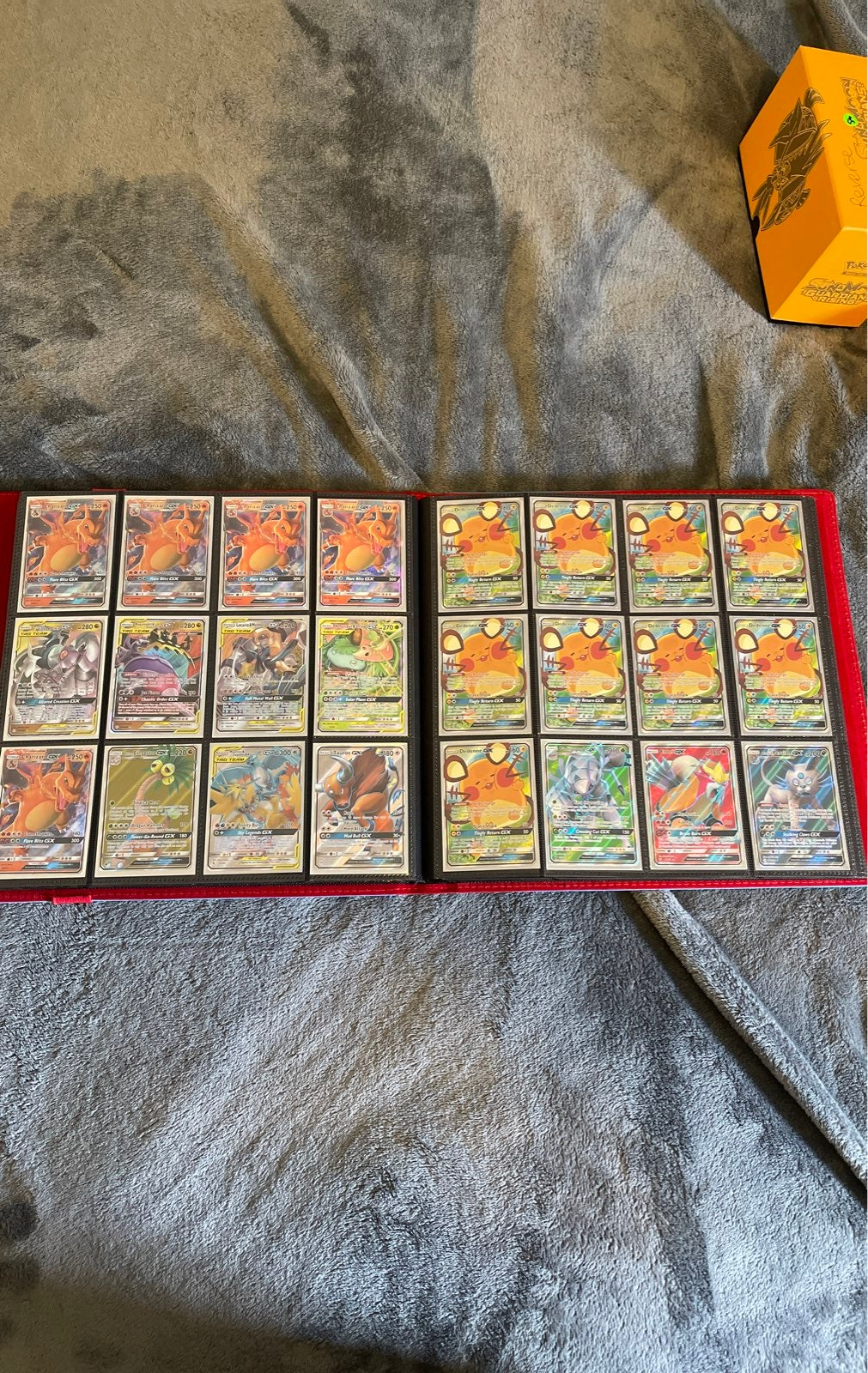 Pokemon gx cards and v cards