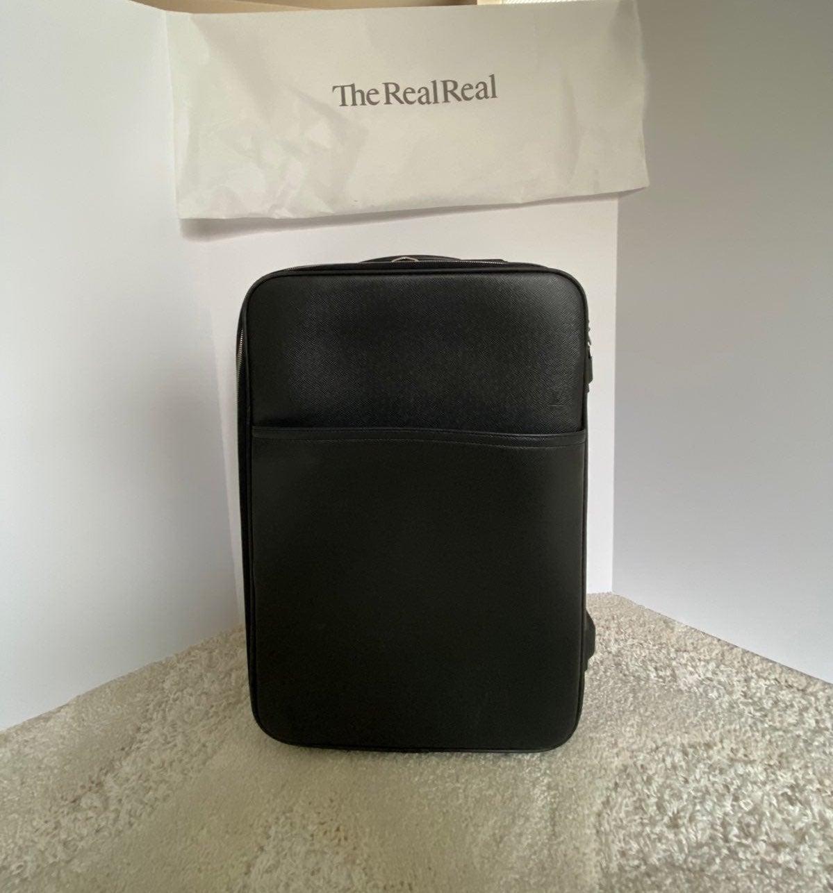 Louis Vuitton Pegase 55 Taiga Leather