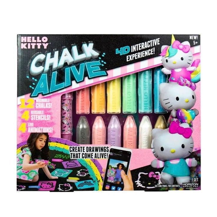 Hello kitty chalk alive set