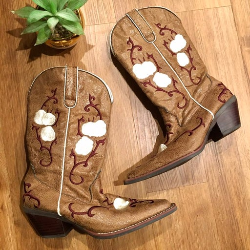 Nomad Womens Embroidered Cowboy Boots