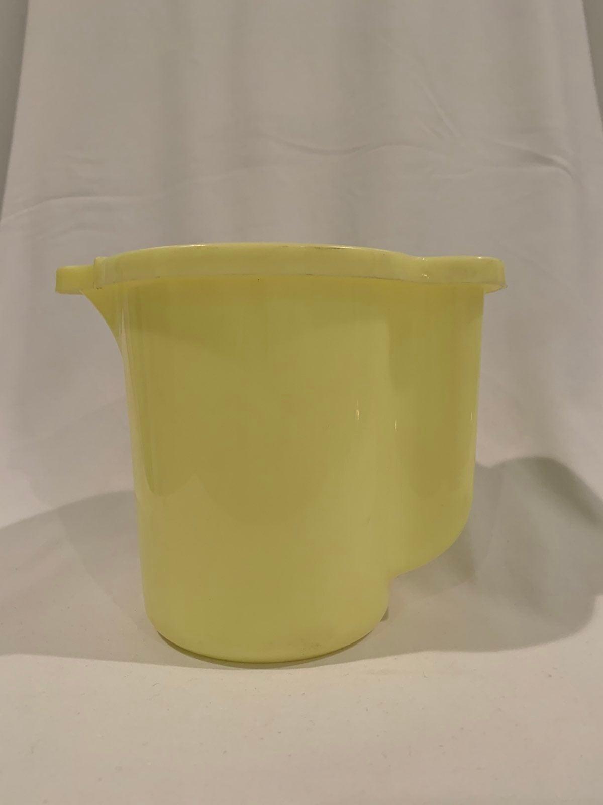 Vintage Tupperware Yellow Creamer/Pitche