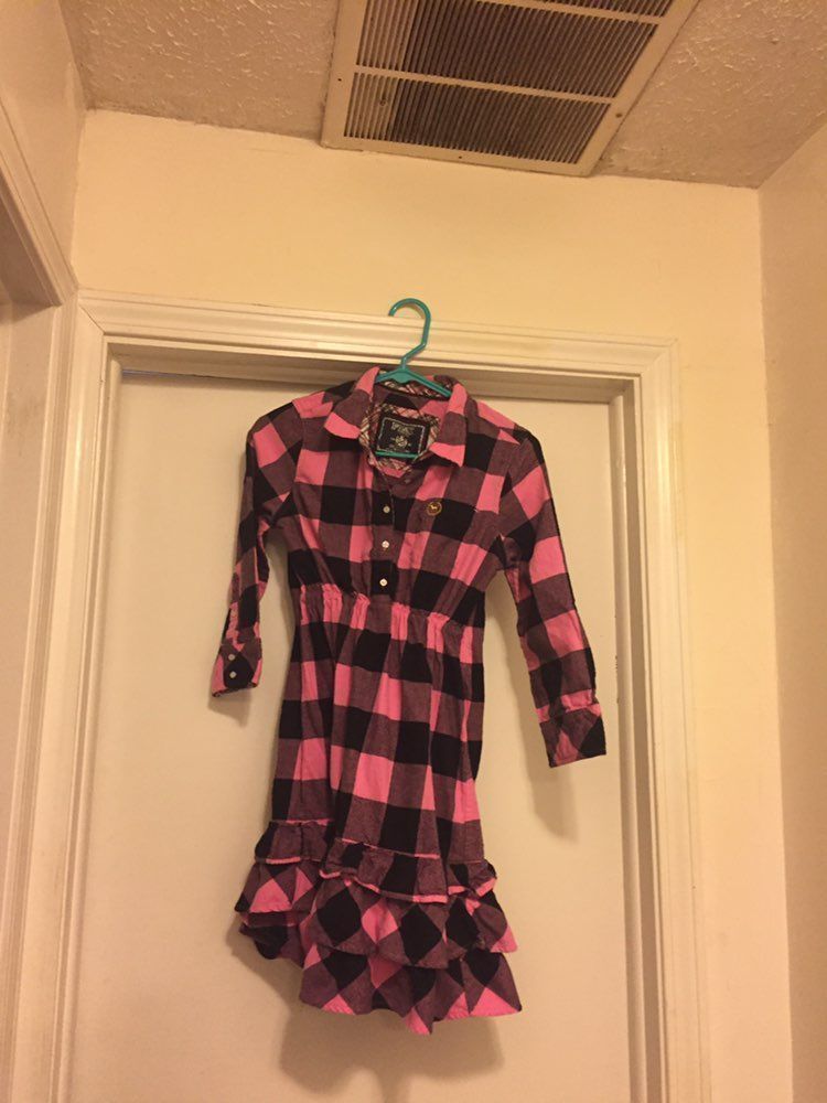 PINK Flannel Tunic