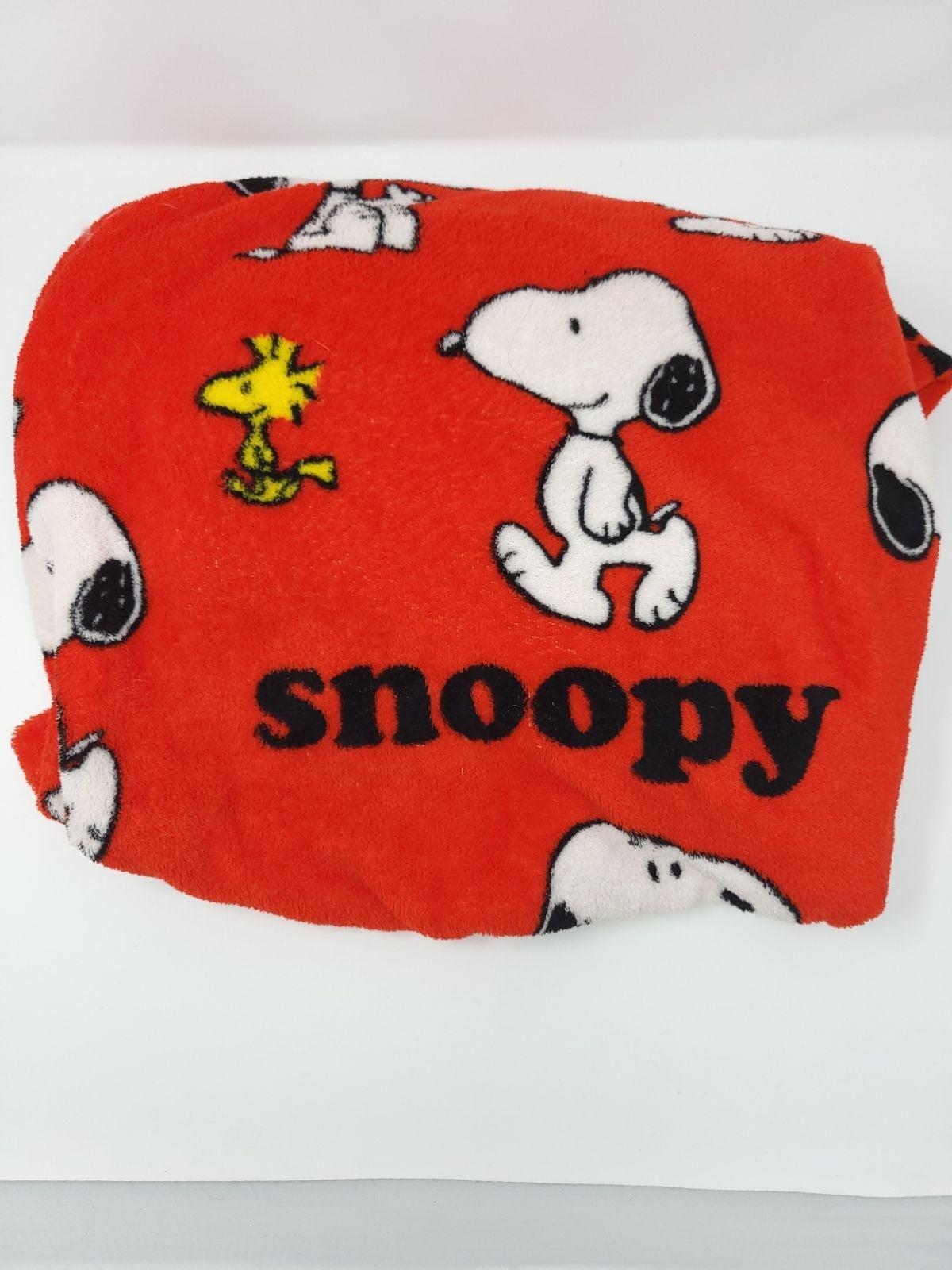 PEANUTS Snoopy Velvet soft Throw Blanket