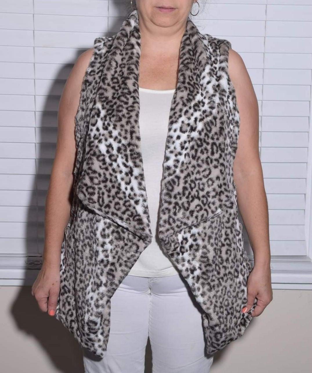 Vest open very warm so comfortable XS