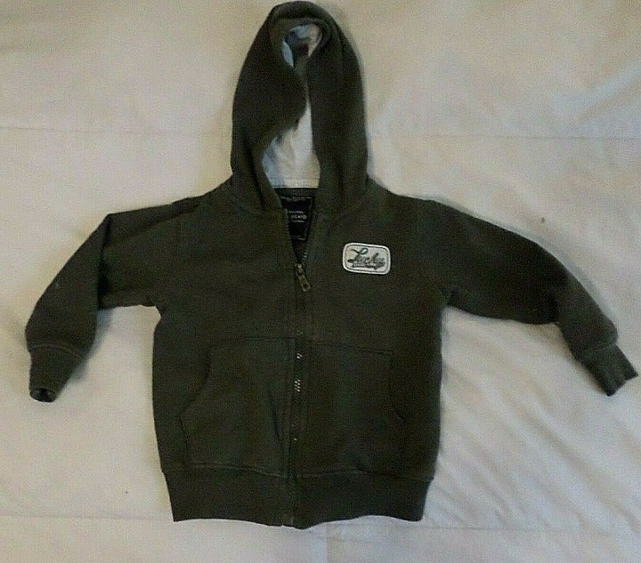 LUCKY BRAND Toddler Hoodie Jacket  Sz 3T