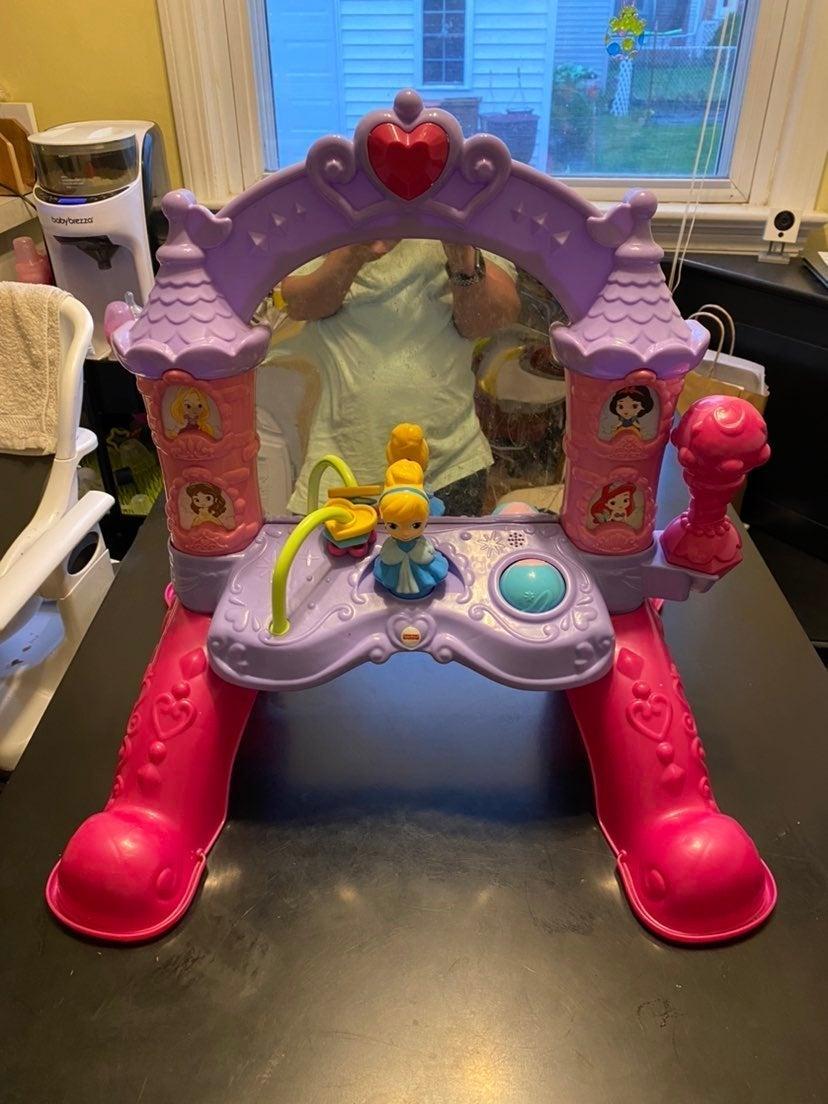 Disney tummy toy