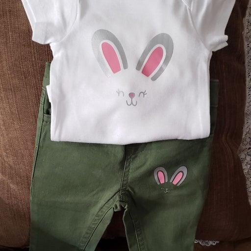 2pc Infant Outfits (2 set bundle pk 0-3
