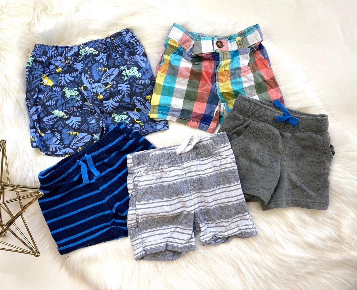 Baby Boys Mixed Brands Shorts Lot - 12 m