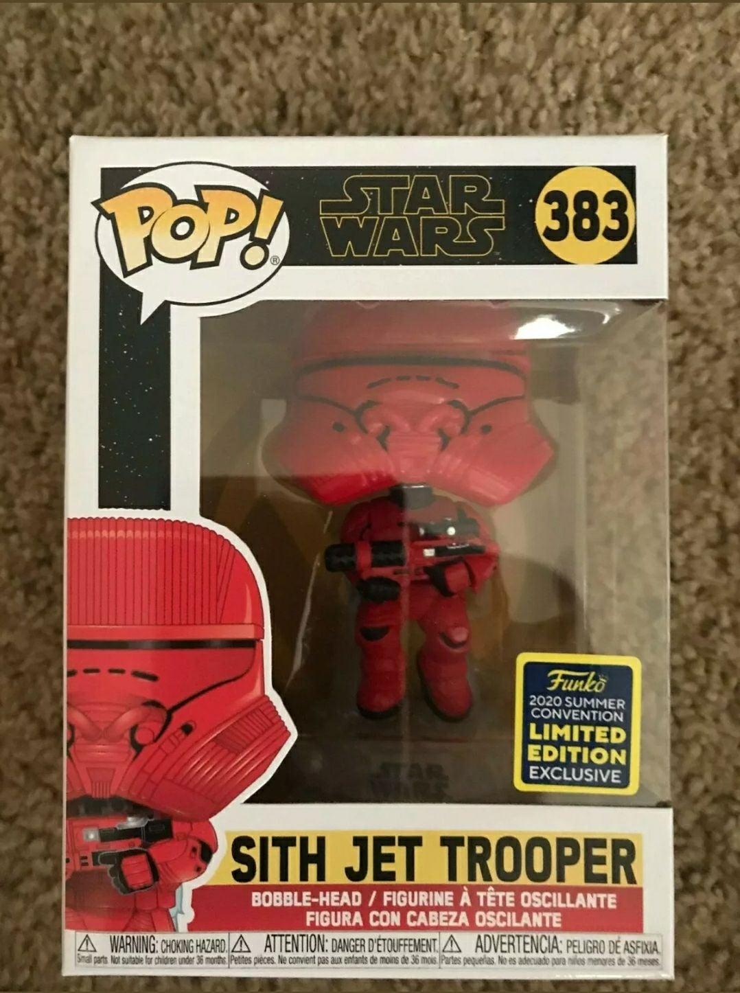 SDCC Sith Jet Trooper FUNKO POP