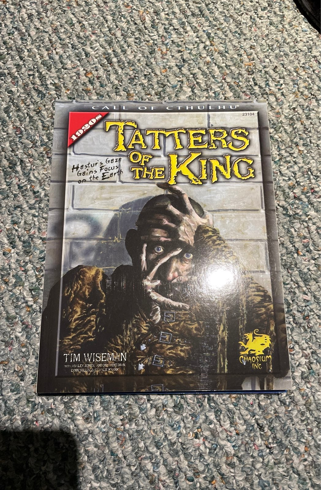 Call of Cthulhu : Tatters of the King