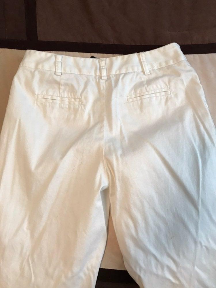 White Apostrophe Pants