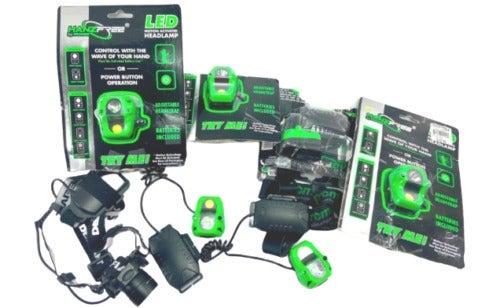Monster LED Head Lamp Lights 20 W Black