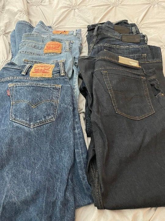 Used Premium Mens Jeans. (6 pair) (all)