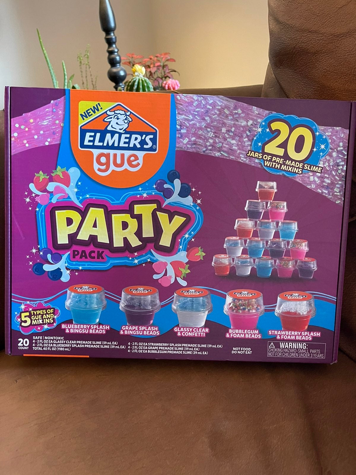 Nwt elmers gue slime party pack!