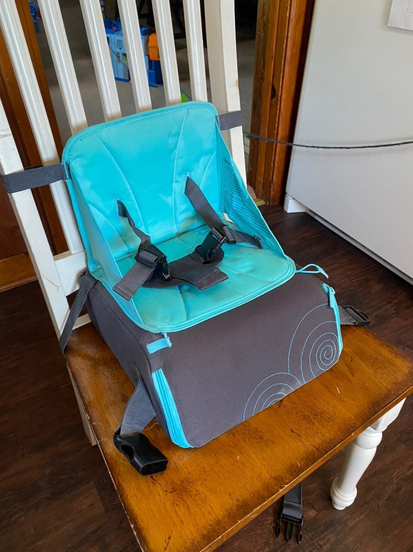 Travel booster seat for toddler