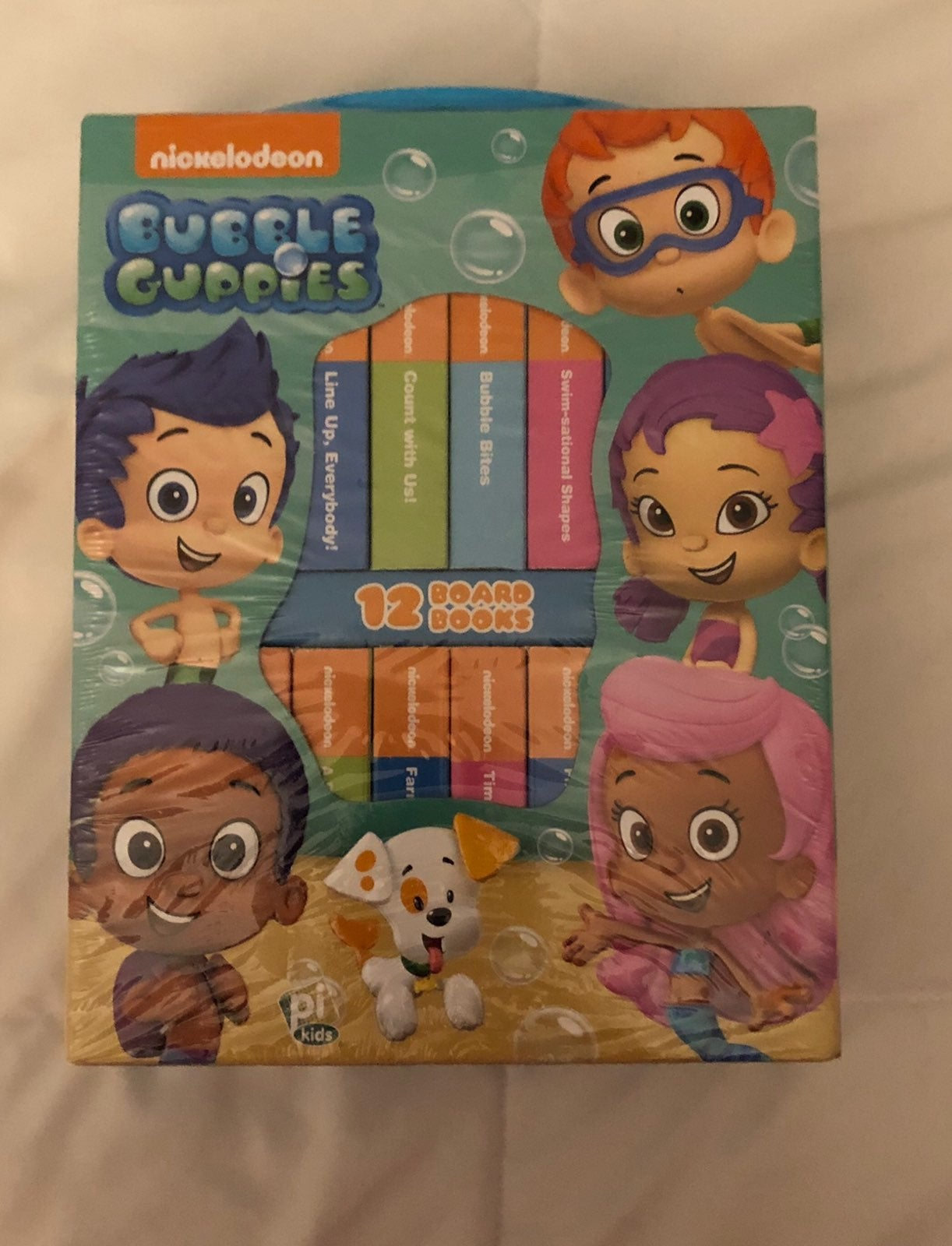 Bubble Guppies 12 Board Books