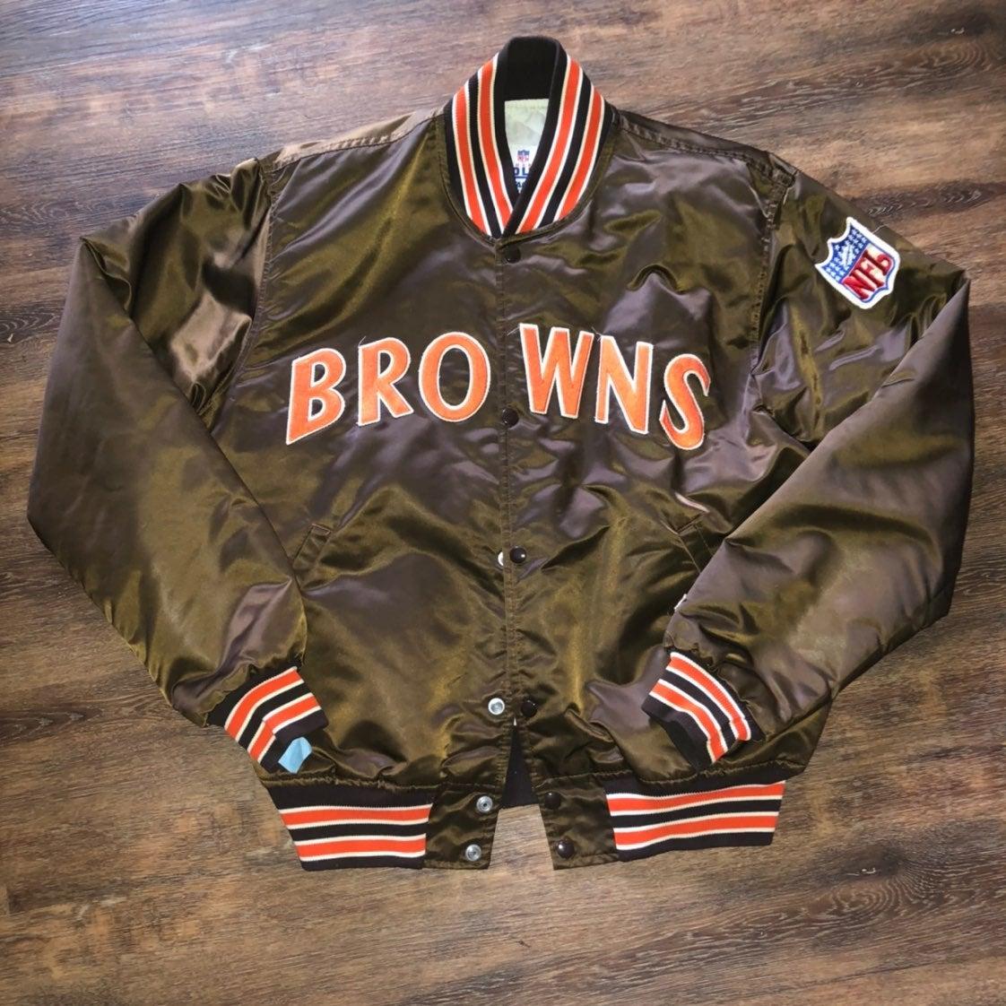 cleveland browns starter jacket nfl