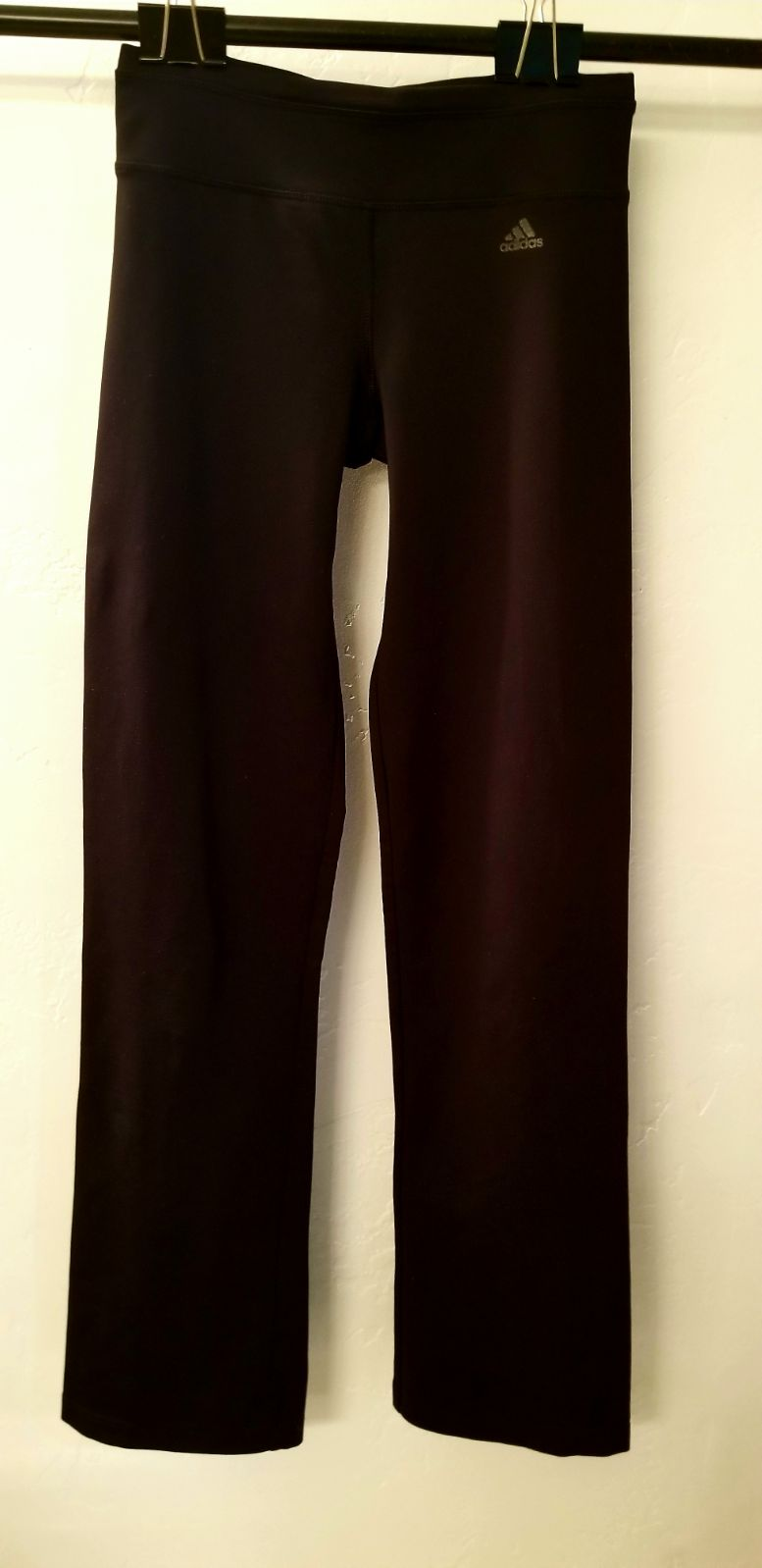 Adidas Black Yoga Pants XS