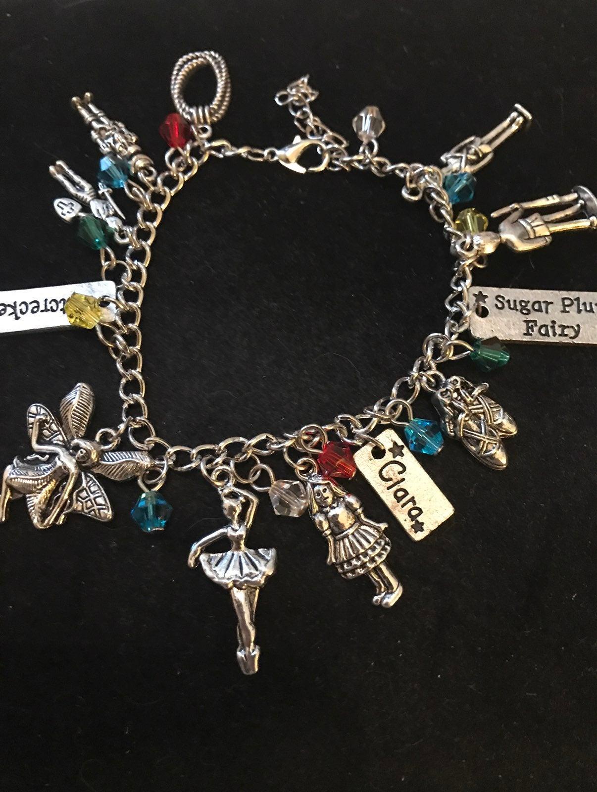 The nutcracker charm bracelet
