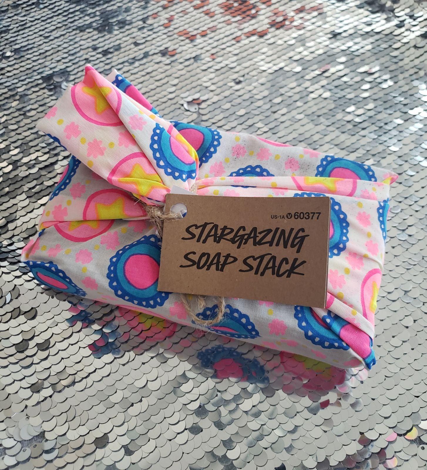 Lush Stargazing Soap Stack