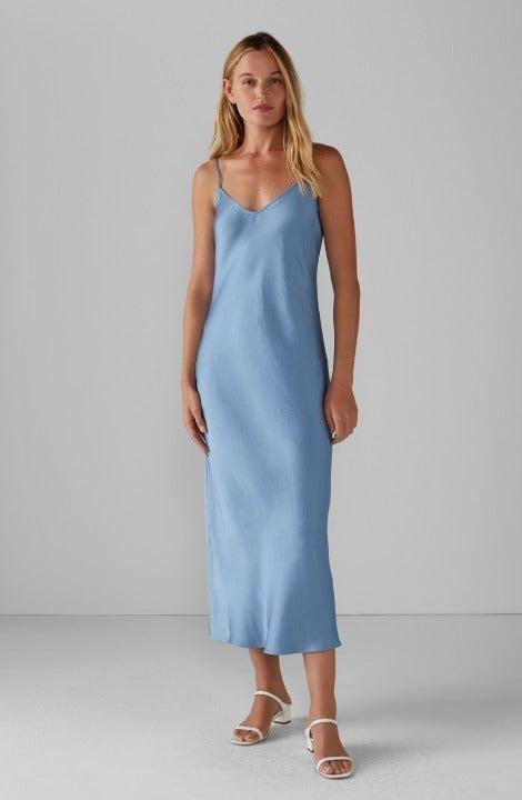 NWT Club Monaco Shiny Slip Dress, Size 2