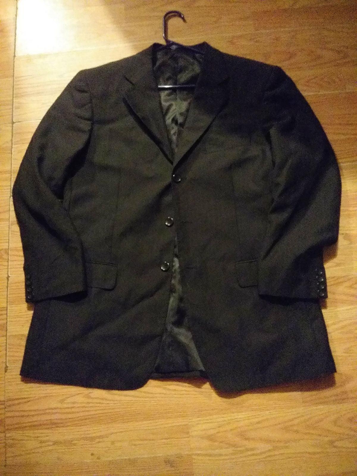 Mantoni milan italy jacket 42 reg black