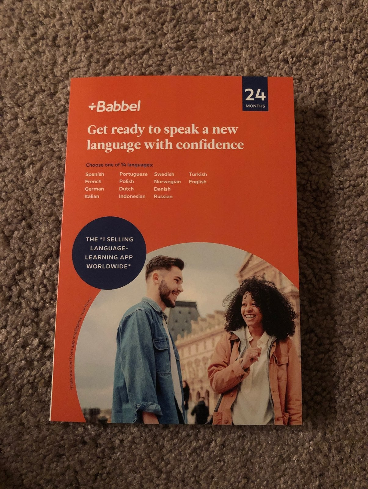 Babbel 24 month access