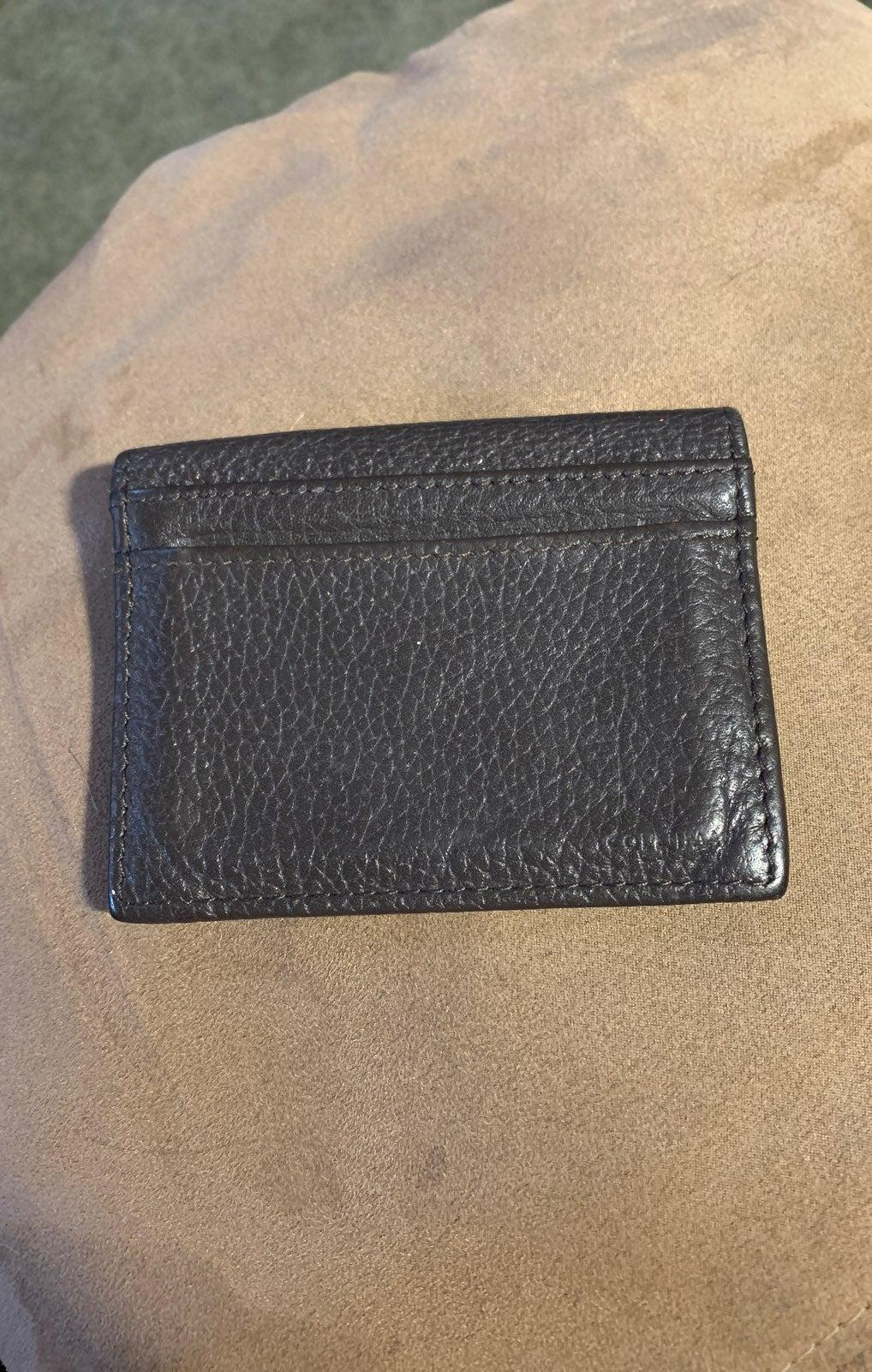 Cole Haan card holder wallet