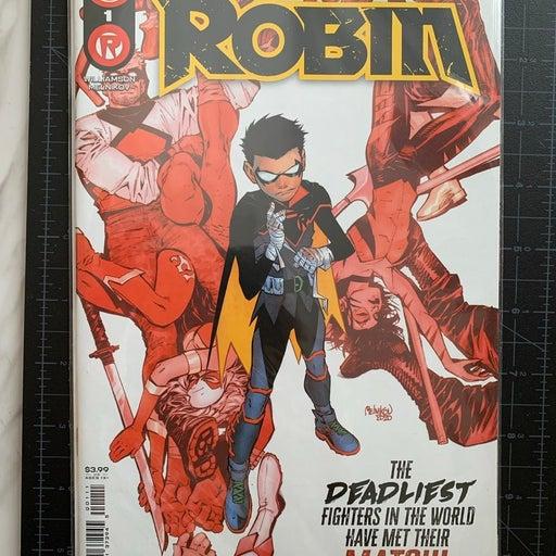 DC Robin comic