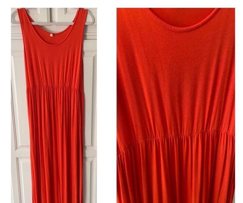 PinkBlush Maternity Maxi Dress, sz L